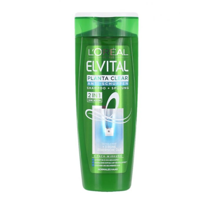 Elvital (Elseve) Sampon 300 ml 2in1 Planta Clear