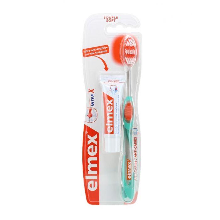 Elmex Periuta de dinti+Pasta de dinti 12 ml