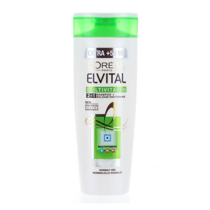 Elvital (Elseve) Sampon 300 ml 2in1 Multivitamin