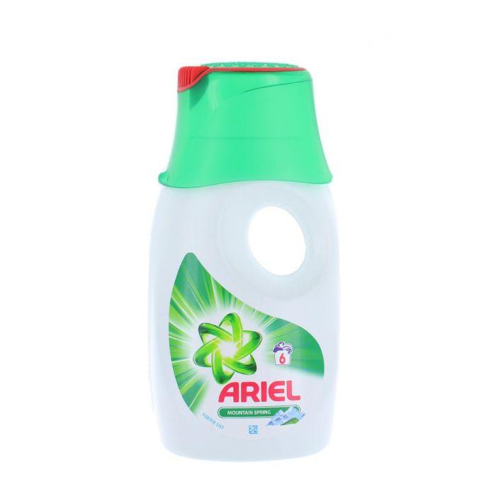 Ariel Detergent lichid 390 ml 6 spalari Mountain Spring