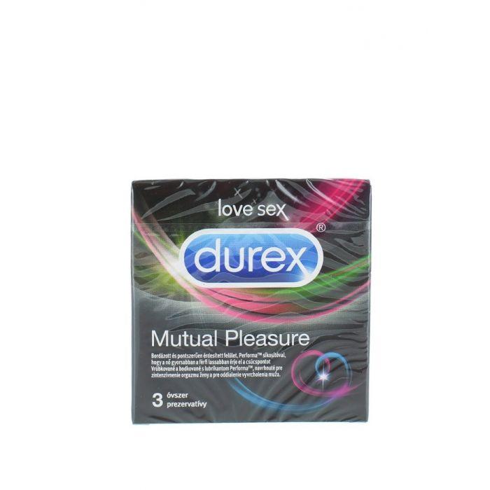 Durex Prezervative 3 buc Mutual Pleasure