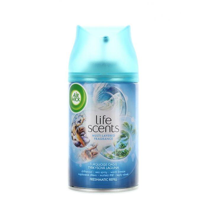 Airwick Rezerva odorizant camera 250 ml Turquoise Oasis