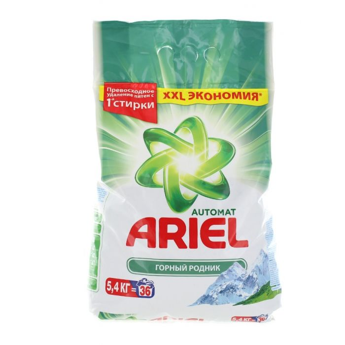 Ariel Detergent automat 5.4 kg 36 spalari Mountain Spring