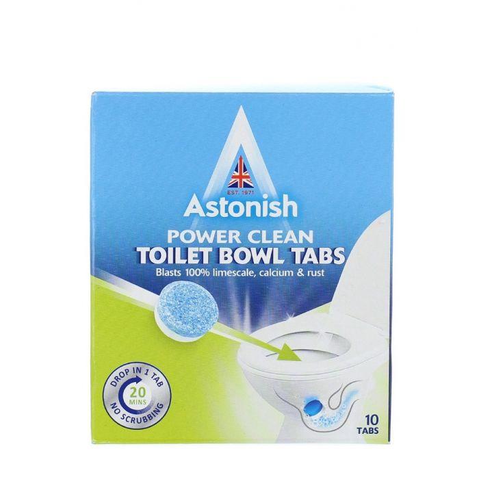 Astonish Tablete pentru curatarea vaselor de toaleta 10 buc
