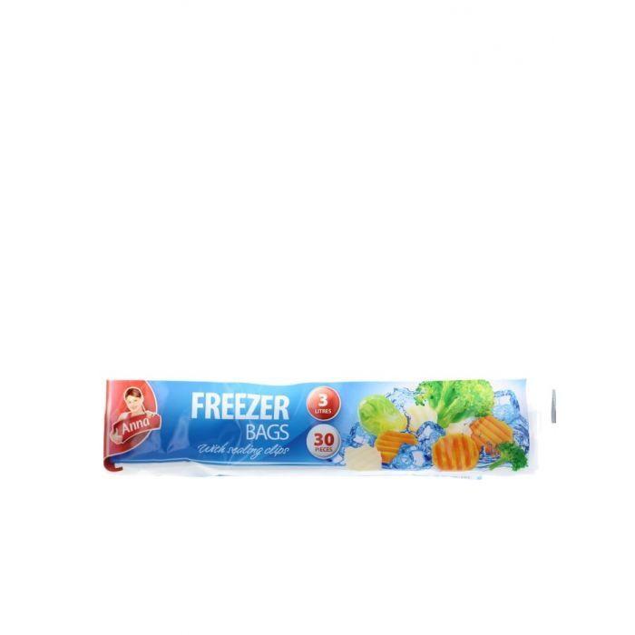 Anna Pungi pentru congelator 30 buc 3l