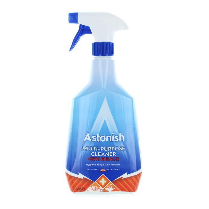 Astonish Solutie curatat multisuprafete 750 ml Cu inalbitor