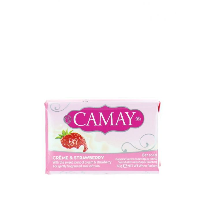 Camay Sapun 85 g Creme & Strawberry