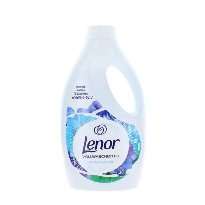Lenor Detergent Lichid 1400 ml 20 spalari Weisse Wasserlilie