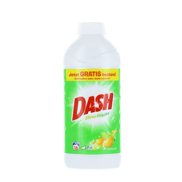 Dash Detergent lichid 1040 ml 16 spalari Zitrus Frische