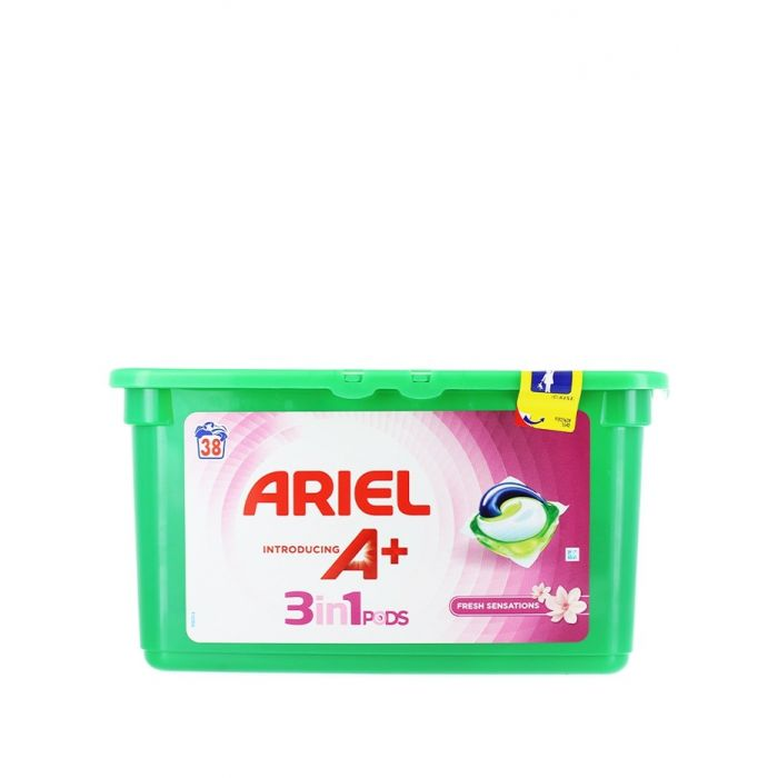 Ariel Detergent Capsule 3in1 38 buc Fresh Sensations