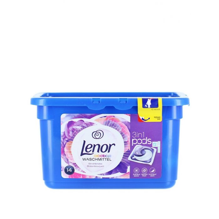 Lenor Detergent Capsule 14 Buc 3in1 Color Flower bouquet