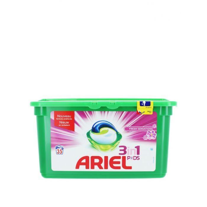 Ariel Detergent capsule 3in1 35 buc Fresh Sensations