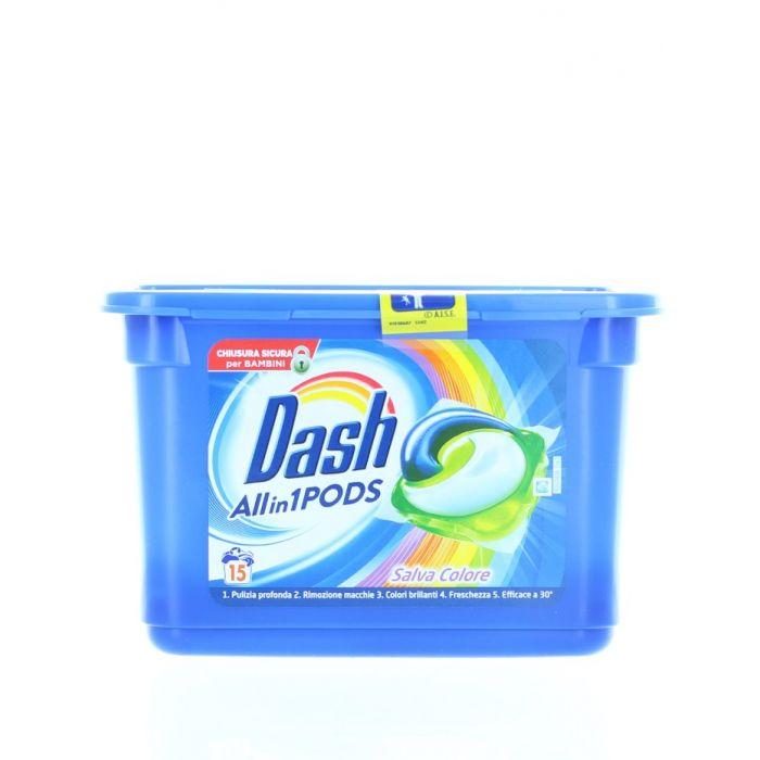 Dash Detergent Capsule 15 buc 3in1 Salva Colore