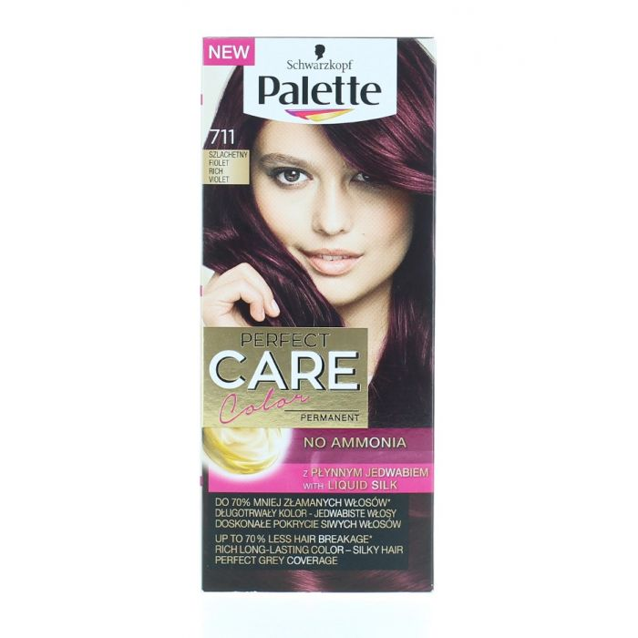 Palette Vopsea de par Perfect Care Color 711 Rich Violet