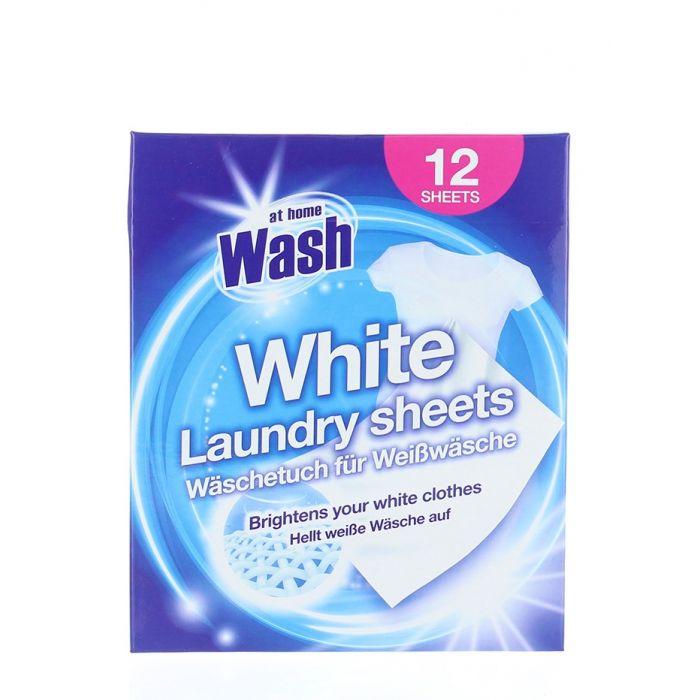 At Home Absorbant de culoare 12 buc White