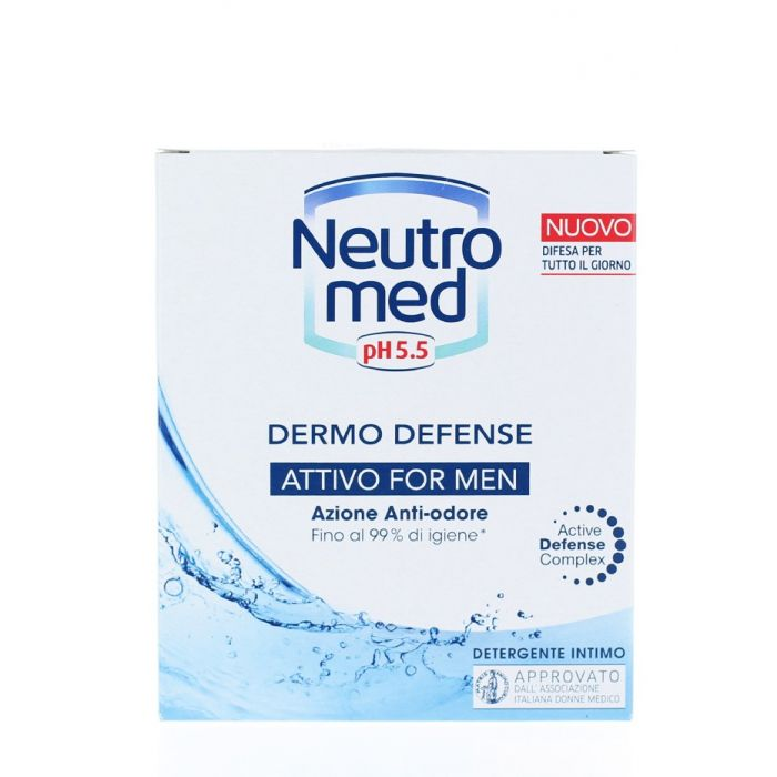 Neutromed Sapun lichid intim barbati 200 ml Attivo For Men