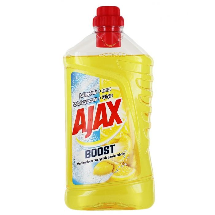 Ajax Detergent Pardoseli 1L Baking Soda+Lemon