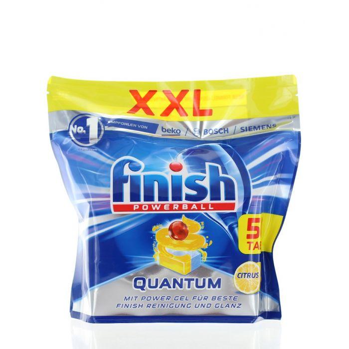 Finish Tablete pentru masina de spalat vase 50 buc Quantum powerball citrus