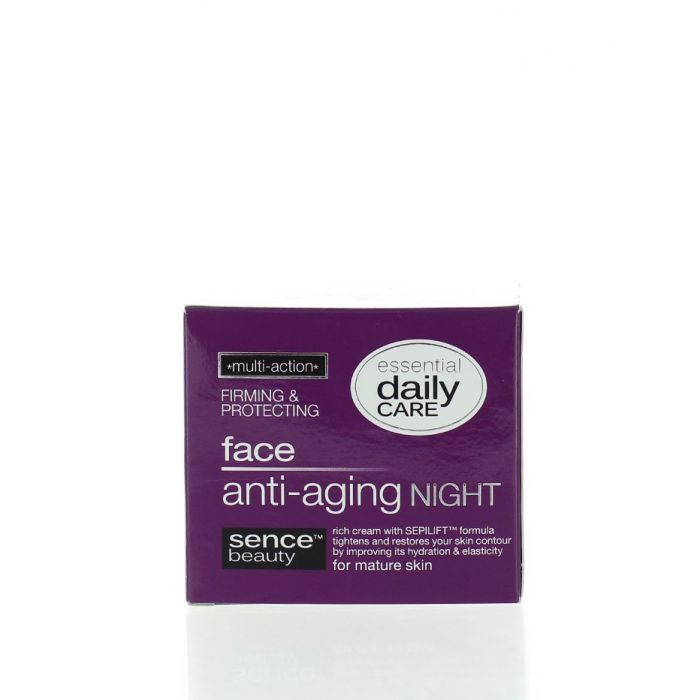 Sence Beauty Crema antirid de noapte 50 ml Firming & Protecting