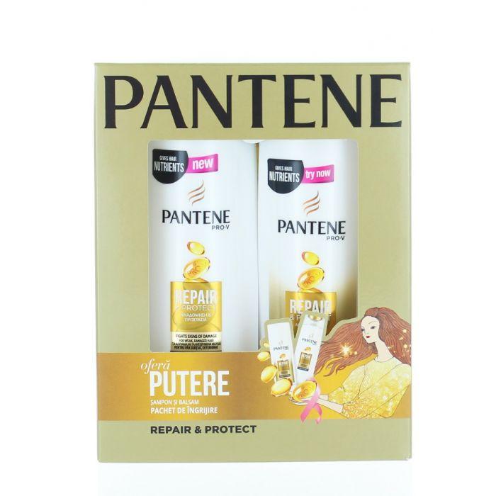 Pantene caseta: Sampon+Balsam de par 250+200 ml Repair & Protect