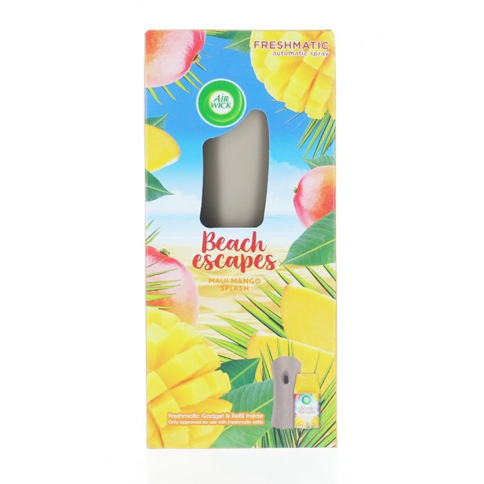 Airwick Aparat odorizant camera+rezerva 250 ml Maui Mango Splash