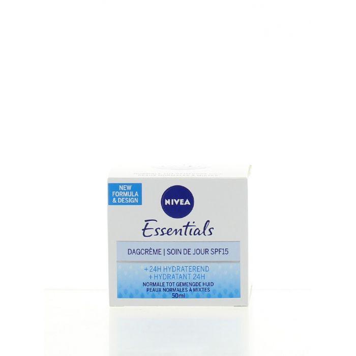 Nivea Crema de zi 50 ml Essentials SPF15 Hydratant