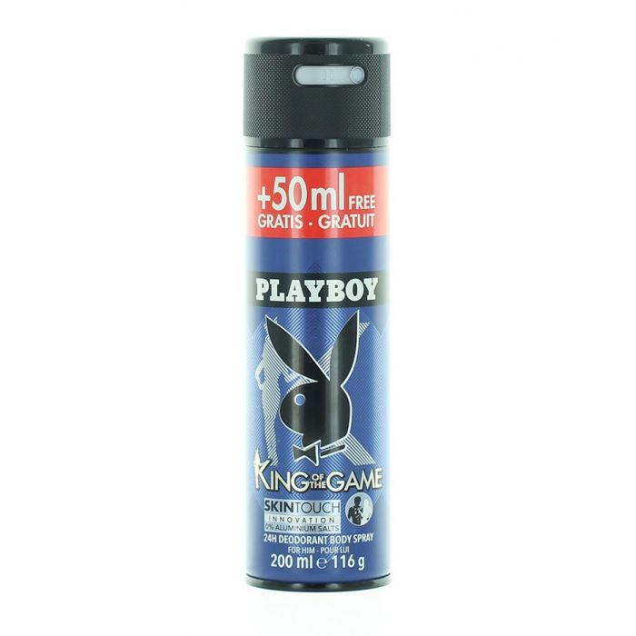 Playboy Spray deodorant barbati 200 ml King Of The Game