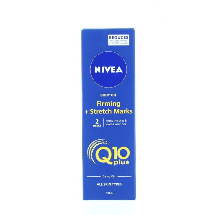 Nivea Ulei de corp 200 ml Q10 Plus Firming+Stretch Marks