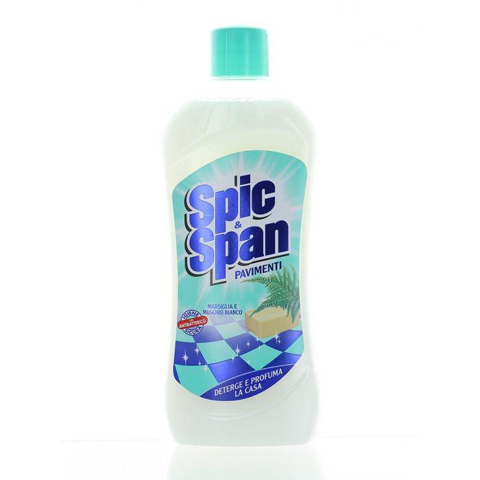 Spic&Span Detergent Pardoseli 1 L Marsiglia E Muschio Bianco