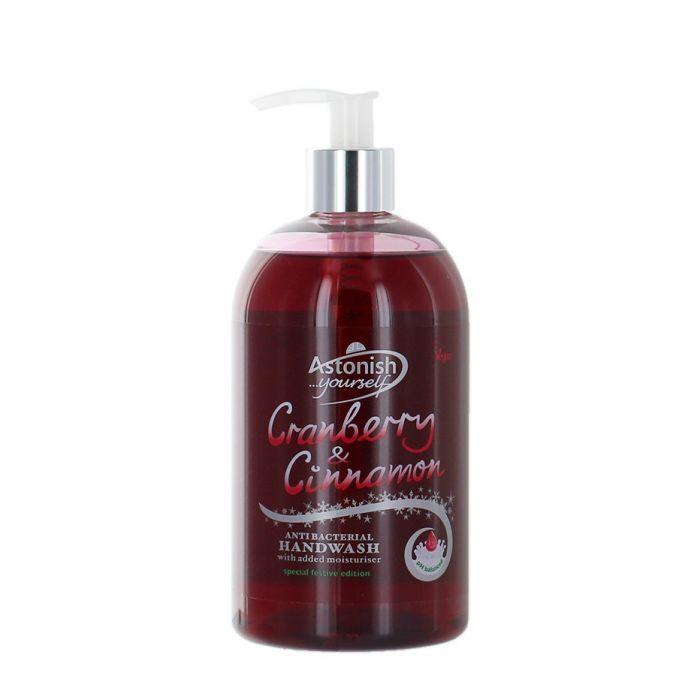 Astonish Sapun lichid cu pompa 500 ml Cranberry&Cinnamon