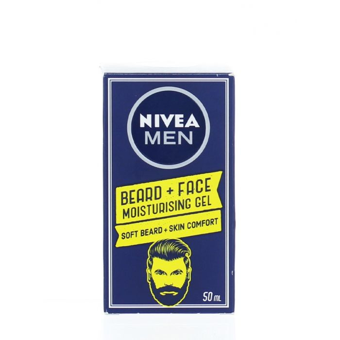 Nivea Men Gel hidratant fata pentru barbati 50 ml Beard+Face