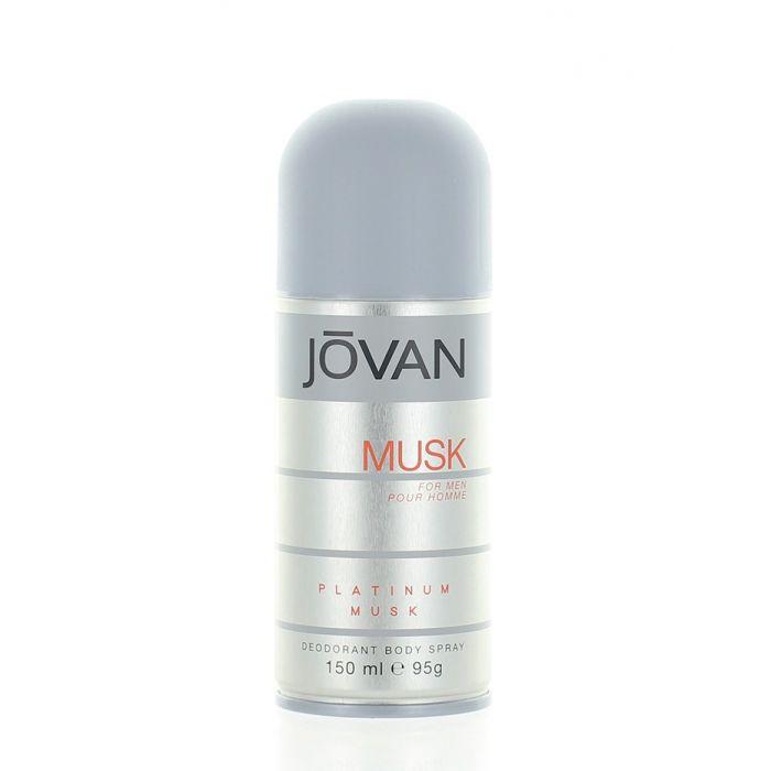 Jovan Spray deodorant pentru barbati 150ml Platinum Musk