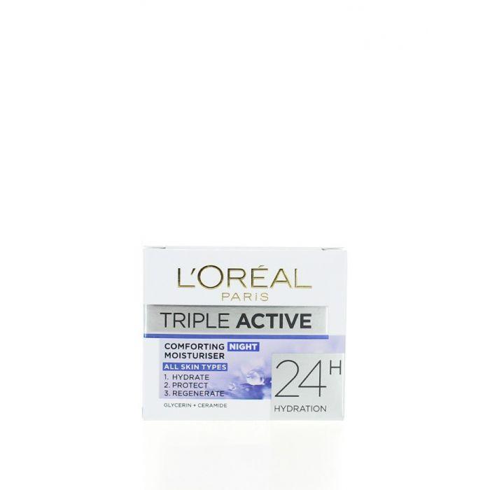 L'oreal Crema de noapte 50 ml Triple Active All Skin Types
