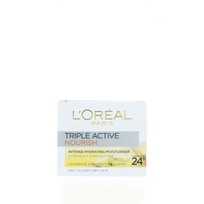 L'oreal Crema de fata hidratanta 50 ml Triple Active Nourish