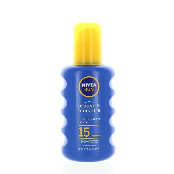 Nivea Sun Spray de corp pentru protectie solara 200 ml SPF15