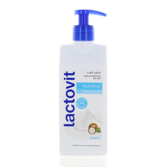 Lactovit Lapte de corp cu pompa 250 ml Nutrition Normal Skin