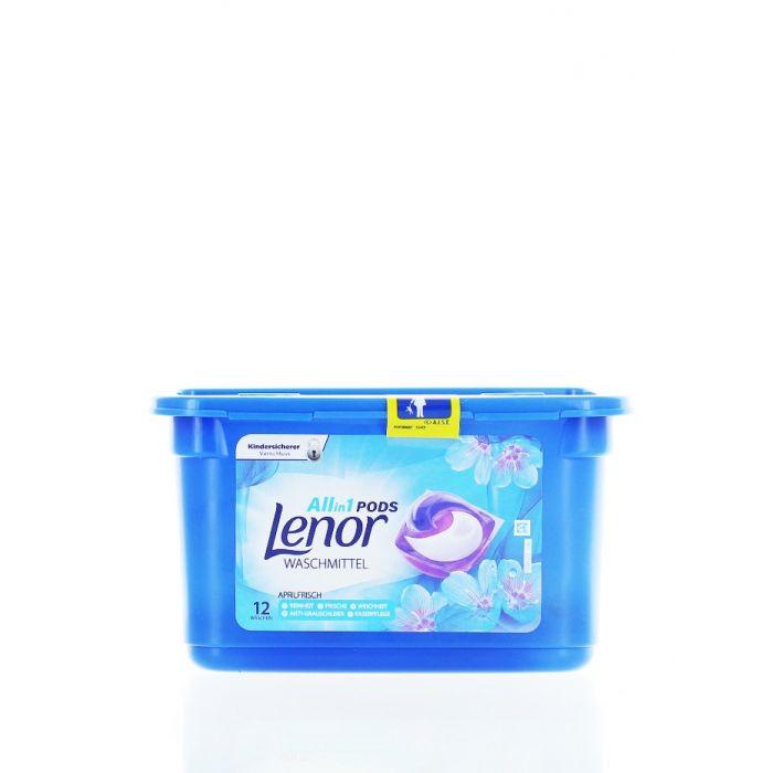 Lenor Detergent Capsule 12 Buc Allin1 Aprilfrisch