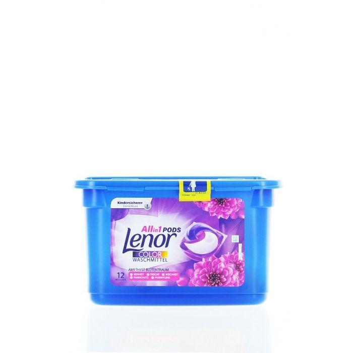 Lenor Detergent Capsule 12 Buc Allin1 Amethyst