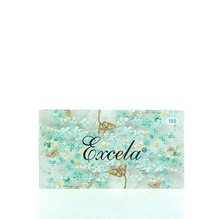 Excela Servetele fine in cutie 2 straturi 150 buc 20.5x19 cm