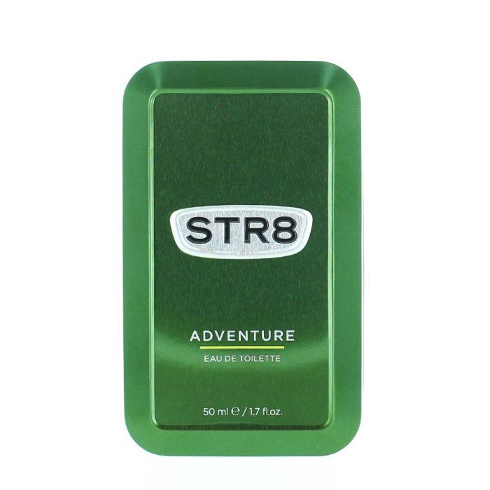 STR8 Parfum in cutie metalica 50 ml Adventure (Design Vechi)