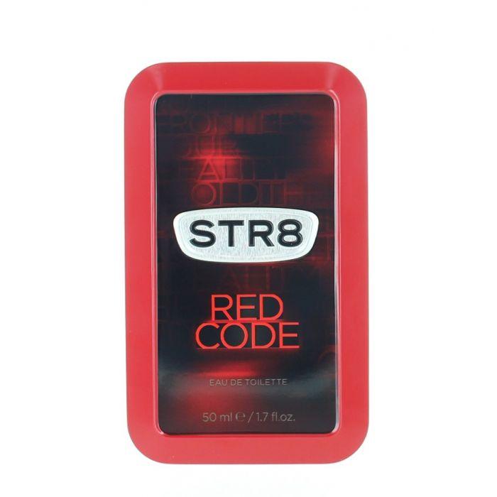 STR8 Parfum in cutie metalica 50 ml Red Code (Design Vechi)