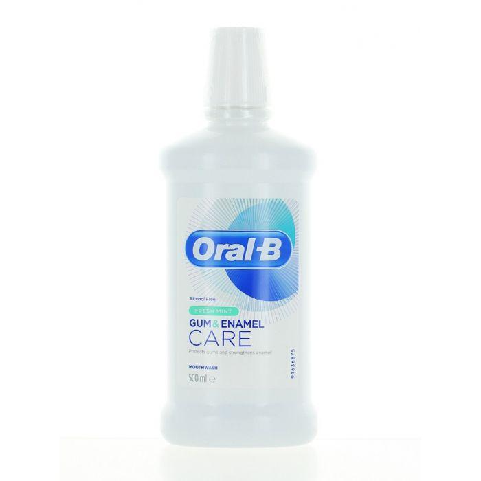 Oral-B Apa de gura 500 ml Gum & Enamel Fresh Mint