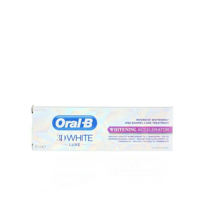 Oral-B Accelerator de dinti pentru albire 75 ml 3DWhite Luxe