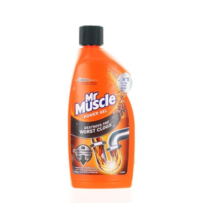 Mr. Muscle Solutie curatat tevi 500 ml Power