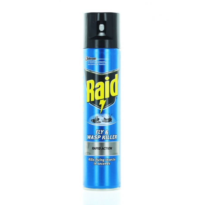 Raid Spray Anti muste si tantari 300 ml Rapid Action