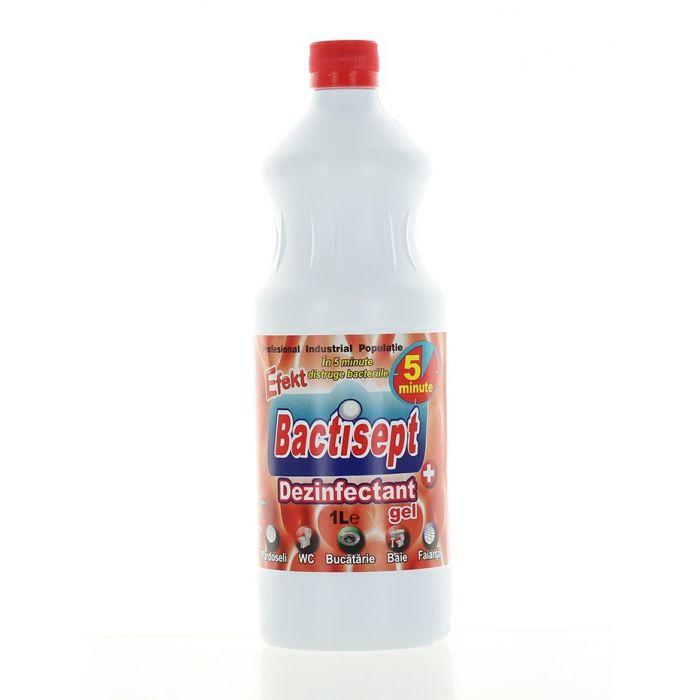 Efekt Bactisept Gel Dezinfectant 1 L Rosu