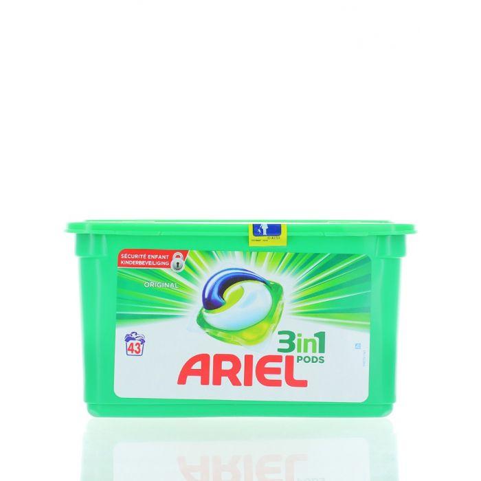 Ariel Detergent Capsule 3in1 43 buc Original
