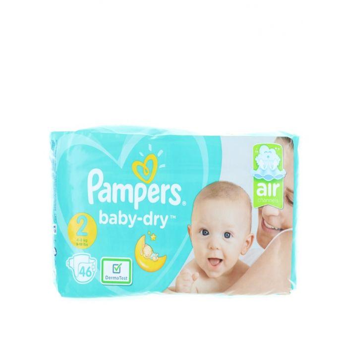 Pampers Scutece nr.2 4-8 kg 46 buc Baby-Dry
