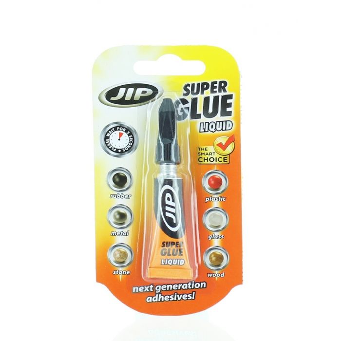 JIP Super Glue Adeziv instantaneu 3 g
