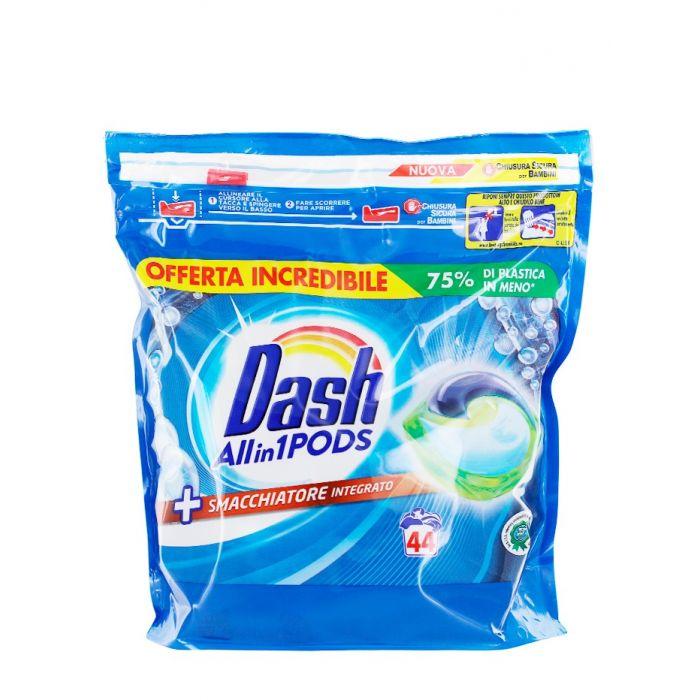 Dash Detergent Capsule 44 buc Allin1 Smacchiatore Integrato